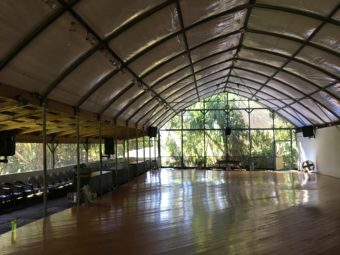 Ecstatic dance venue at Kalani - Puna Hawaii